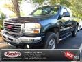 2005 Polo Green Metallic GMC Sierra 2500HD SLT Extended Cab 4x4 #78824577