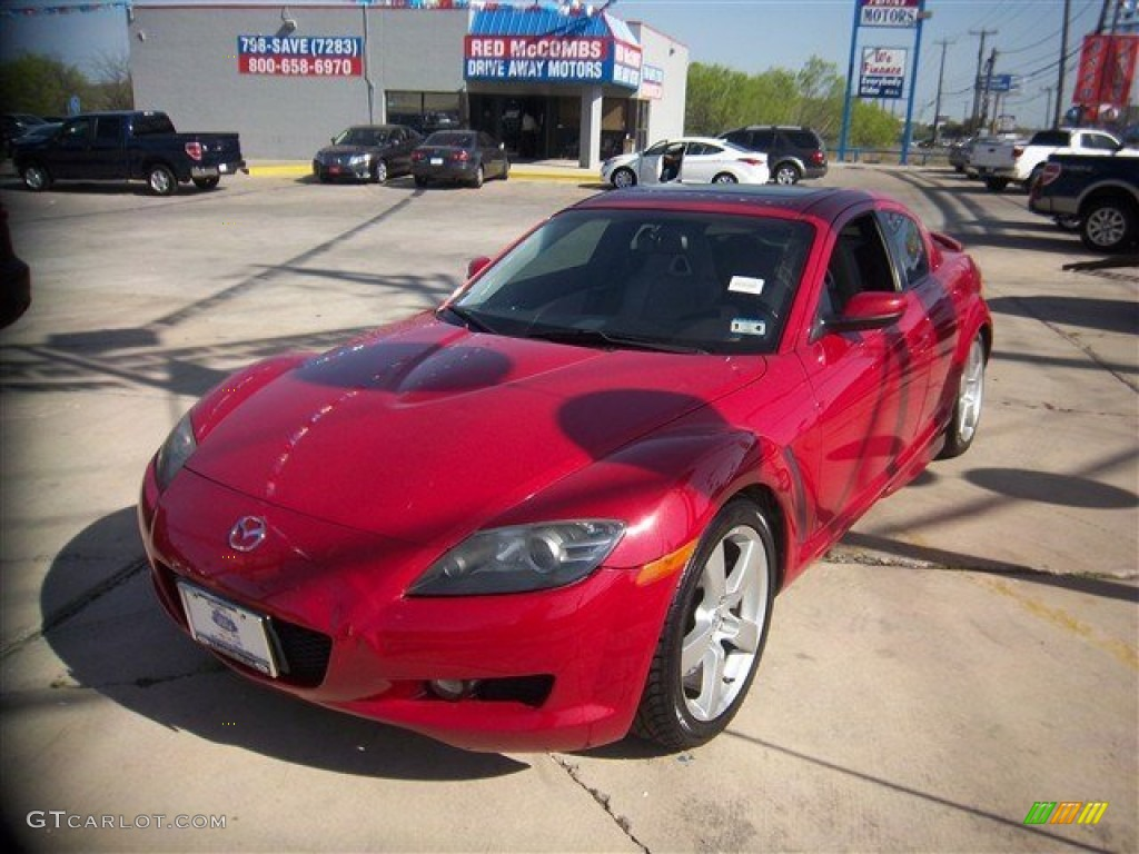 2007 velocity red mica mazda rx 8 grand touring 78824678. Black Bedroom Furniture Sets. Home Design Ideas