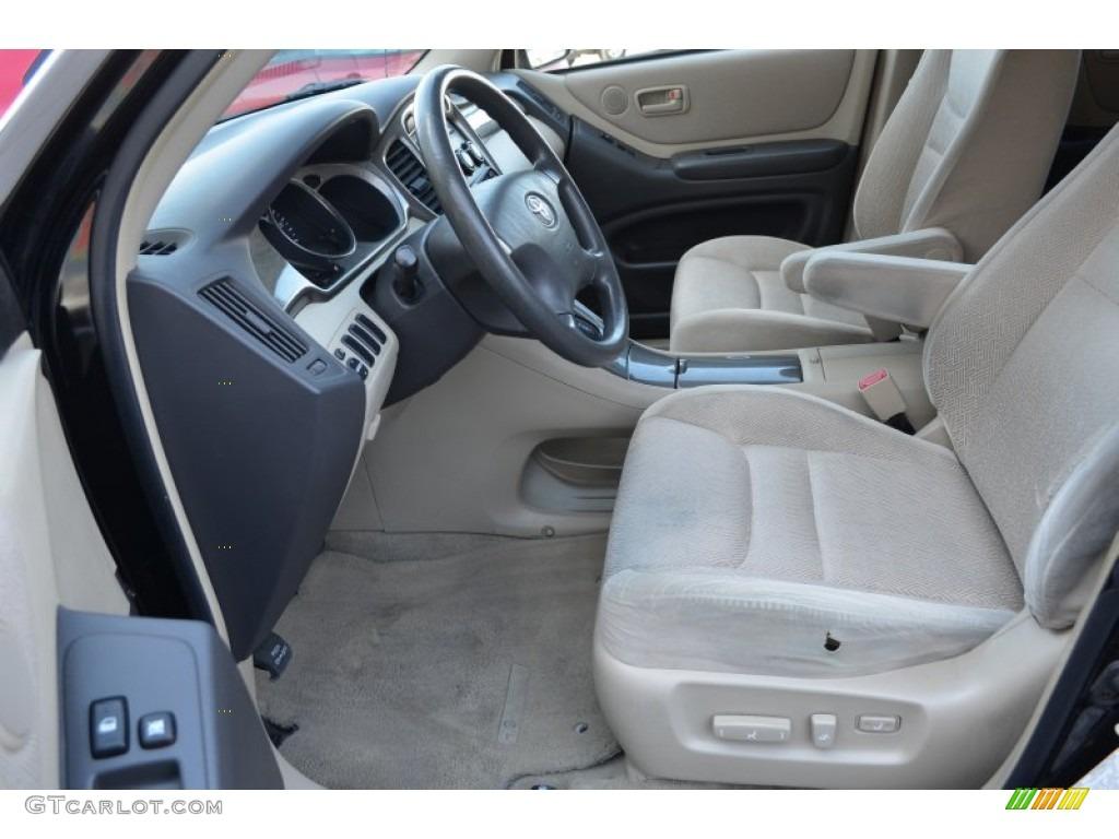 2003 Toyota Highlander V6 Interior Photos | GTCarLot.com