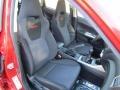 2009 Subaru Impreza Carbon Black Interior Interior Photo