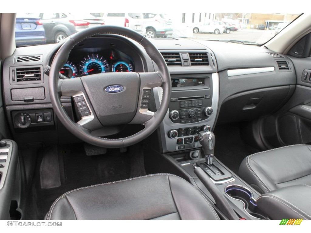 Charcoal Black Interior 2012 Ford Fusion SEL Photo 78858893