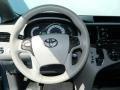 2012 Silver Sky Metallic Toyota Sienna SE  photo #9
