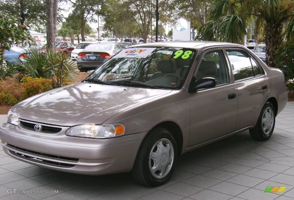 1998 sandrift pearl metallic toyota corolla ce 775244 car color galleries. Black Bedroom Furniture Sets. Home Design Ideas