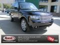Buckingham Blue Metallic 2010 Land Rover Range Rover HSE