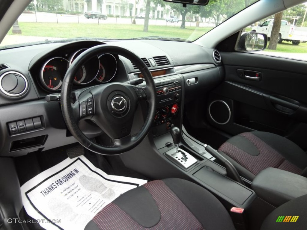 2004 mazda mazda3 s sedan interior photos. Black Bedroom Furniture Sets. Home Design Ideas