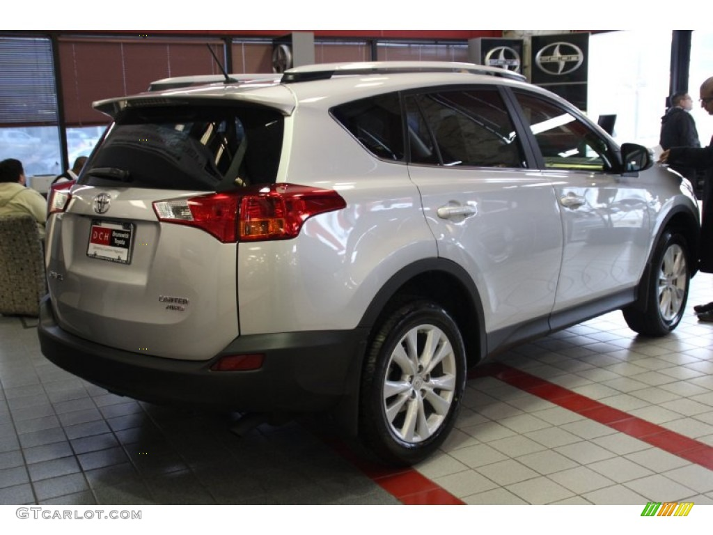 2013 classic silver metallic toyota rav4 limited awd. Black Bedroom Furniture Sets. Home Design Ideas