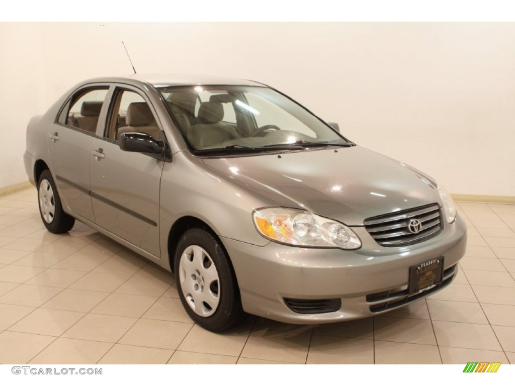 2004 mineral green toyota corolla ce 78852070 car color galleries. Black Bedroom Furniture Sets. Home Design Ideas