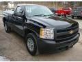 Black 2011 Chevrolet Silverado 1500 Regular Cab 4x4 Exterior