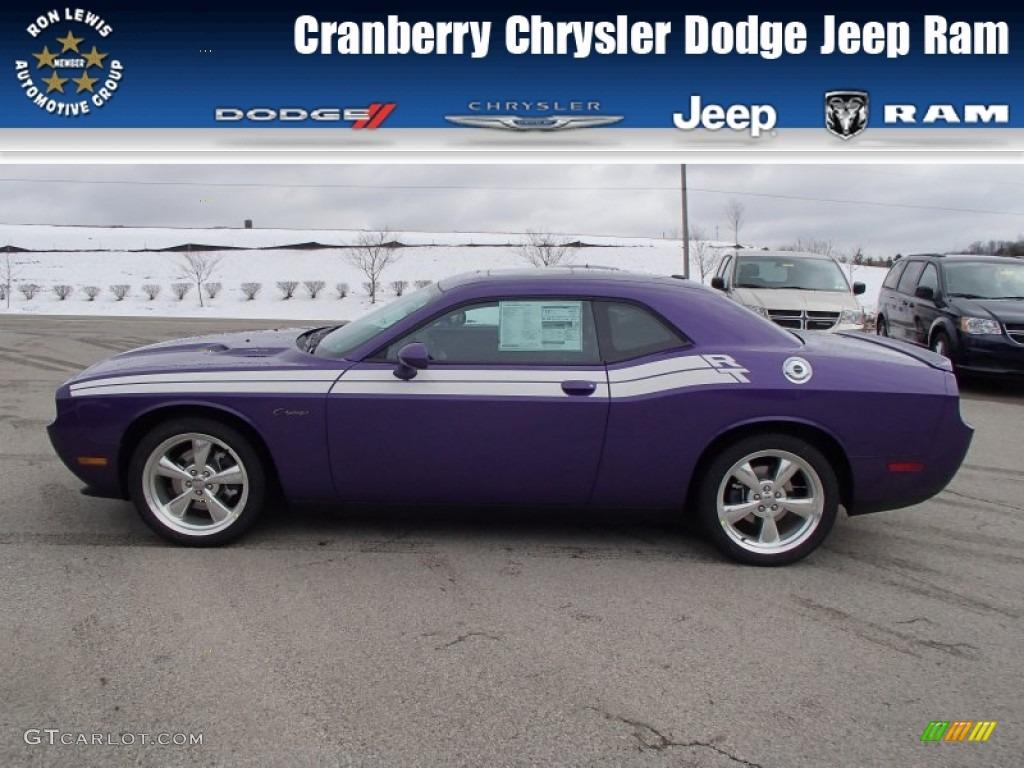 2013 Challenger R/T Classic - Plum Crazy Pearl / Dark Slate Gray photo #1