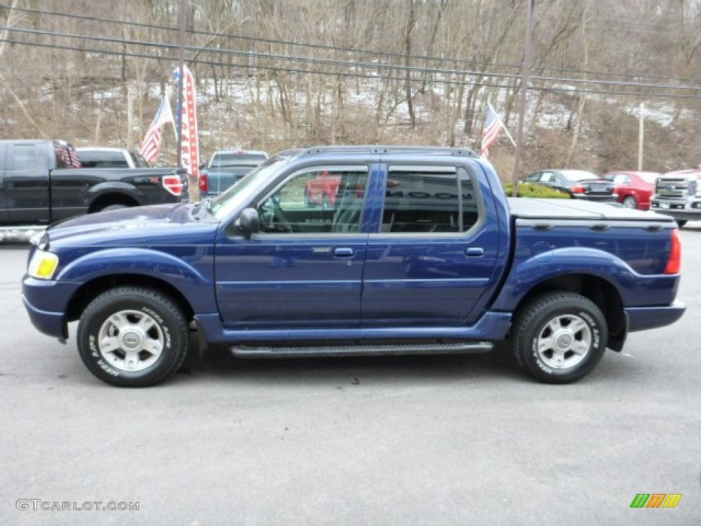 dark blue pearl metallic 2004 ford explorer sport trac xlt 4x4 exterior photo 78887463. Black Bedroom Furniture Sets. Home Design Ideas
