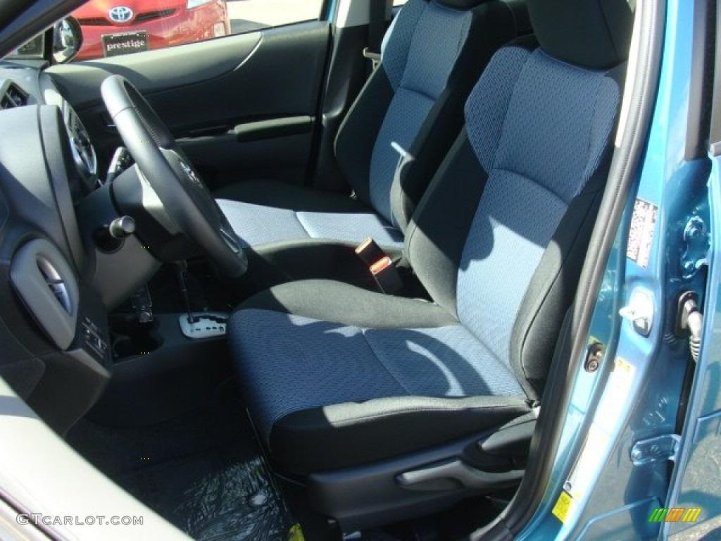2012 Toyota Yaris Se 5 Door Interior Color Photos