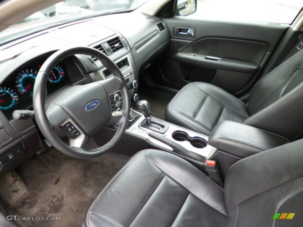 2012 Ford Fusion SEL V6 Interior Color Photos