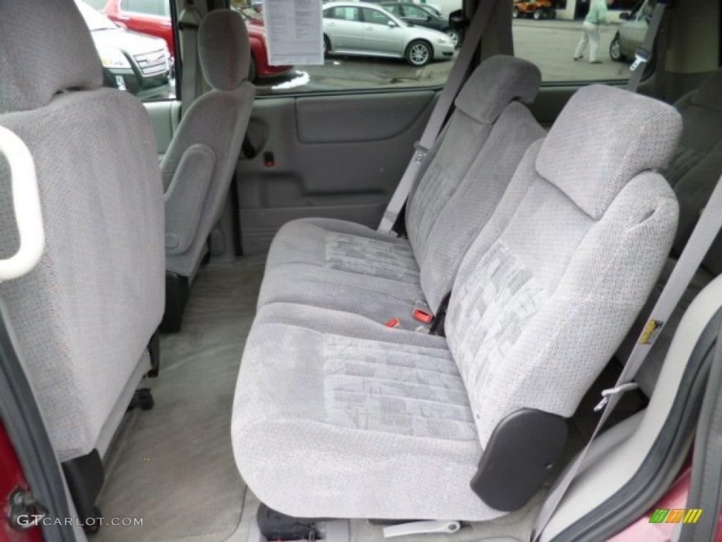 2004 Pontiac Montana Standard Montana Model Rear Seat