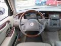 2003 Lincoln Town Car Dark Stone/Medium Light Stone Interior Steering Wheel Photo
