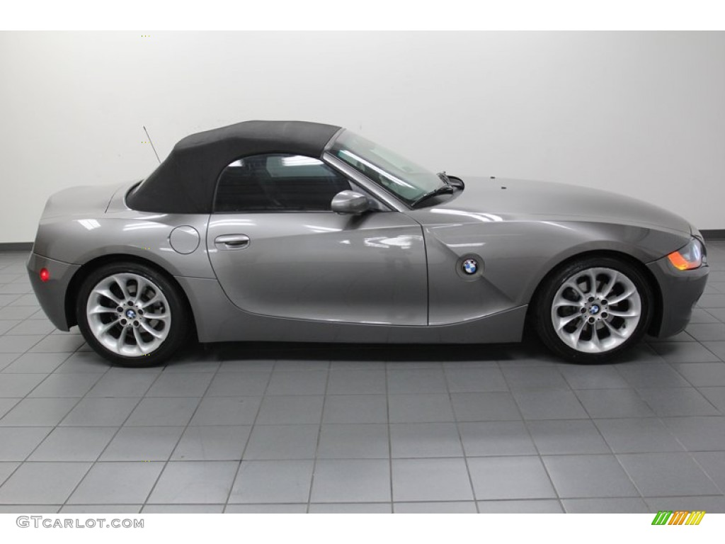 Sterling Gray Metallic 2004 Bmw Z4 2 5i Roadster Exterior