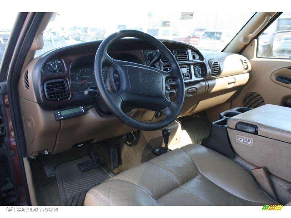 Camel Tan Interior 2001 Dodge Ram 2500 Slt Quad Cab 4x4 Photo 78928103