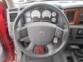 2006 Dodge Ram 3500 Medium Slate Gray Interior Steering Wheel Photo