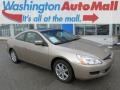 Desert Mist Metallic 2004 Honda Accord EX V6 Coupe