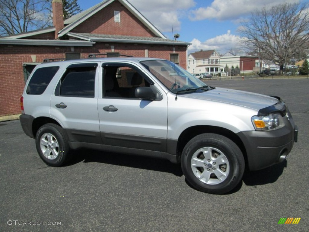 Silver Metallic 2007 Ford Escape Xlt V6 4wd Exterior Photo