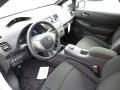 Black 2013 Nissan LEAF Interiors