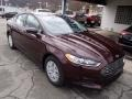 2013 Bordeaux Reserve Red Metallic Ford Fusion S  photo #2