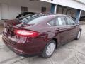 2013 Bordeaux Reserve Red Metallic Ford Fusion S  photo #8