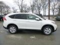 2013 White Diamond Pearl Honda CR-V EX AWD  photo #2