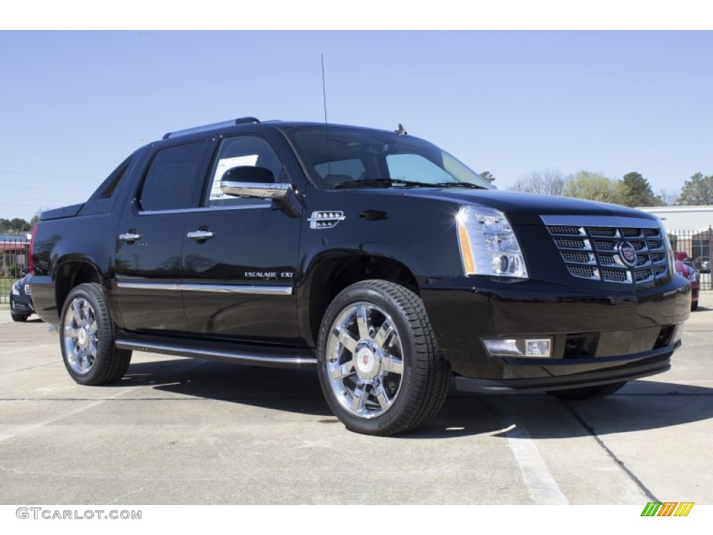 2013 cadillac escalade ext luxury awd exterior photos