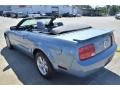 2007 Windveil Blue Metallic Ford Mustang V6 Deluxe Convertible  photo #19