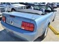 2007 Windveil Blue Metallic Ford Mustang V6 Deluxe Convertible  photo #20