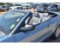 2007 Windveil Blue Metallic Ford Mustang V6 Deluxe Convertible  photo #23