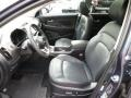 2012 Sportage SX AWD Black Interior