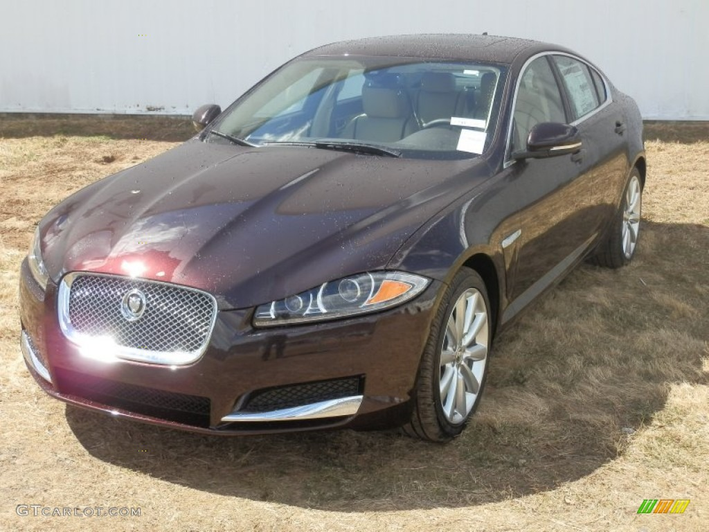 2013 XF 3.0 AWD - Caviar Metallic / Barley/Truffle photo #1