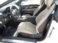 2013 E 550 Coupe Almond/Black Interior