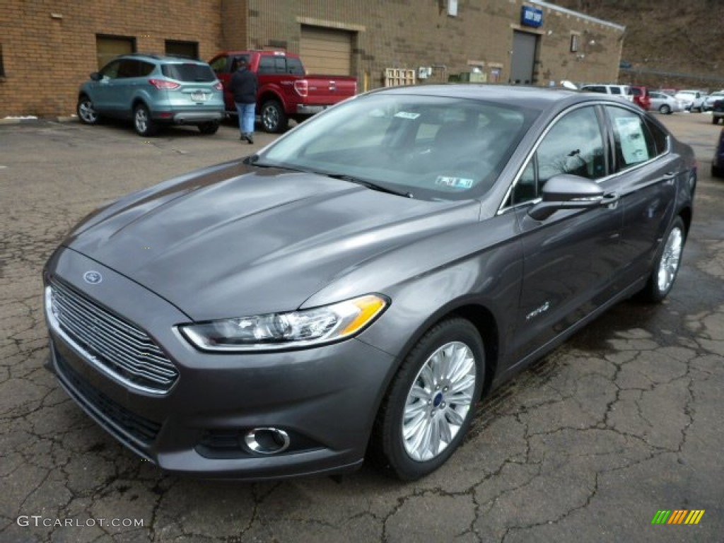 Sterling Gray Metallic 2013 Ford Fusion Hybrid Se Exterior Photo 78984882