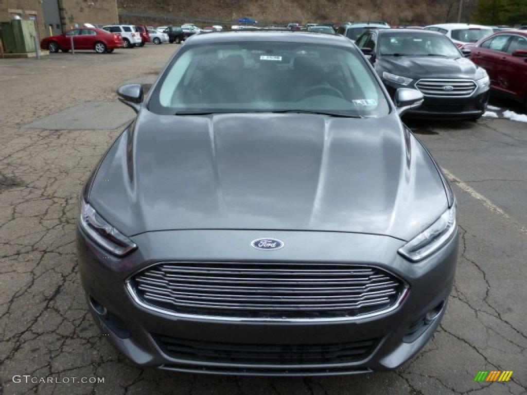 Sterling Gray Metallic 2013 Ford Fusion Hybrid Se Exterior Photo 78984898