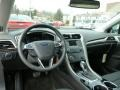 Charcoal Black Dashboard Photo for 2013 Ford Fusion #78984957