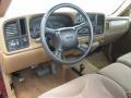 Dashboard of 1999 Sierra 2500 SLE Regular Cab 4x4