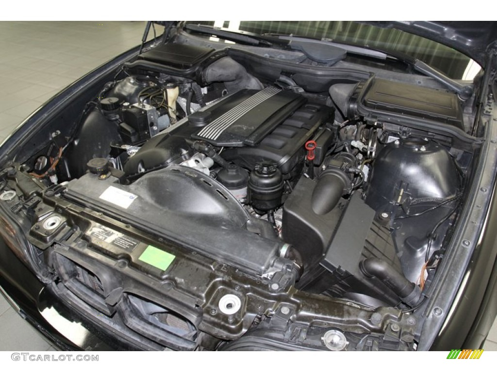 2000 BMW 5 Series 528i Wagon Engine Photos  GTCarLotcom