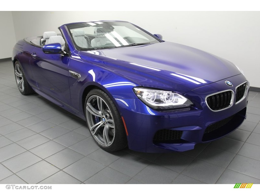 2012 San Marino Blue Metallic Bmw M6 Convertible 78996741