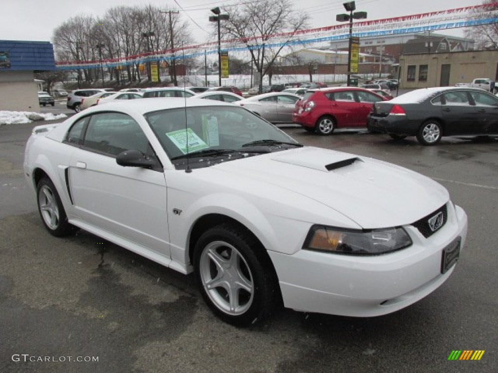 oxford white 2001 ford mustang gt coupe exterior photo. Black Bedroom Furniture Sets. Home Design Ideas