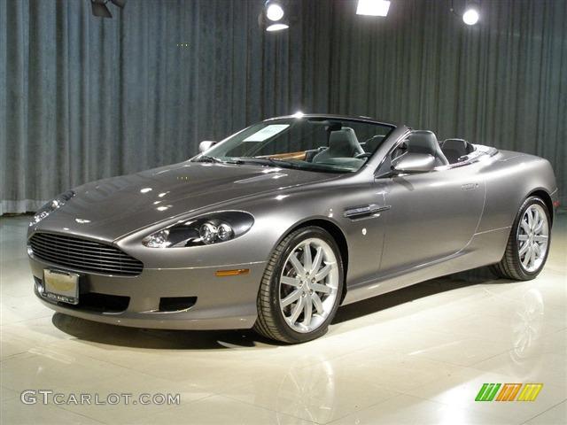 Grey Metallic Aston Martin DB Volante GTCarLotcom - 2006 aston martin db9