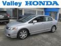 Alabaster Silver Metallic 2010 Honda Civic LX Sedan