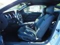 2014 Ford Mustang Charcoal Black/Grabber Blue Accent Interior Interior Photo