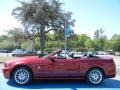 2014 Ruby Red Ford Mustang V6 Premium Convertible  photo #4