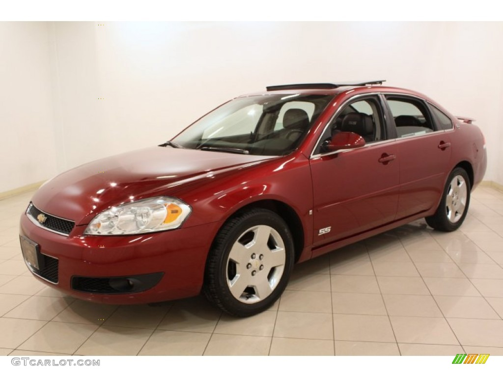 Red Jewel Tint Coat 2007 Chevrolet Impala Ss Exterior