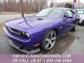 2013 Plum Crazy Pearl Dodge Challenger SRT8 392  photo #1
