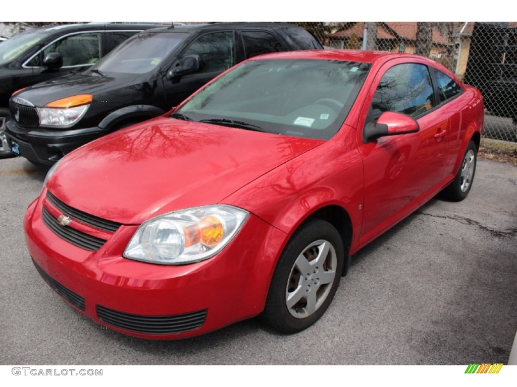 2007 Cobalt LT Coupe - Victory Red / Gray photo #1