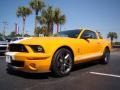 2007 Grabber Orange Ford Mustang Shelby GT500 Coupe  photo #4