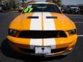 2007 Grabber Orange Ford Mustang Shelby GT500 Coupe  photo #31